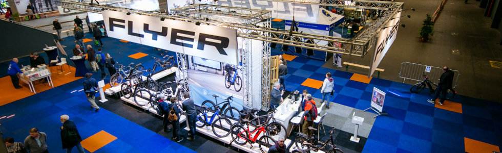 own stand at E-bike Xperience