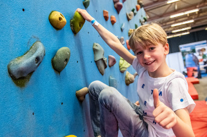 Mount Expo Climbing wall